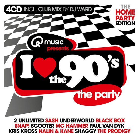 I Love The 90's – The Home Party Edition